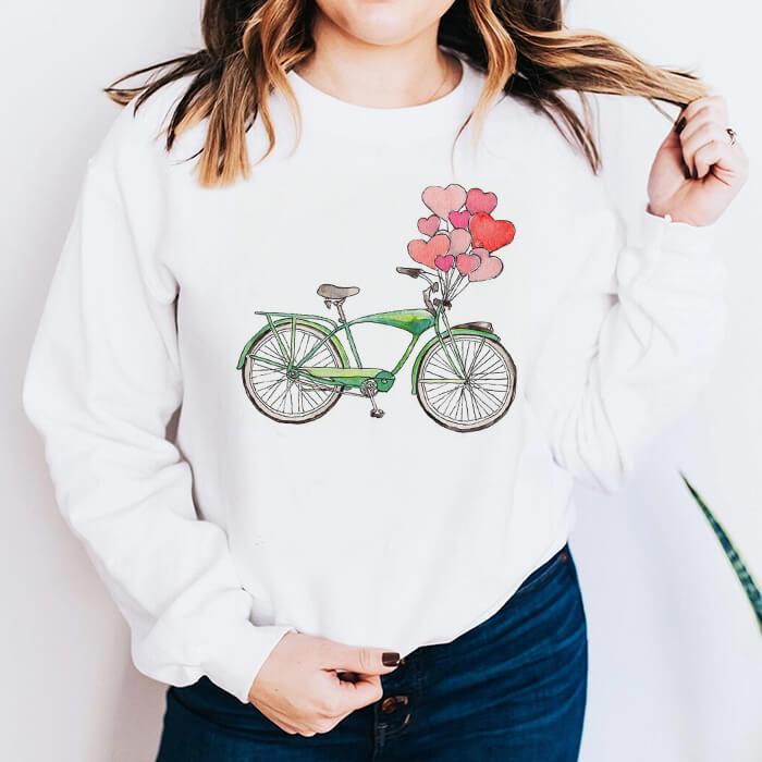 Bluza Dama Alba Bike Hearts [0]