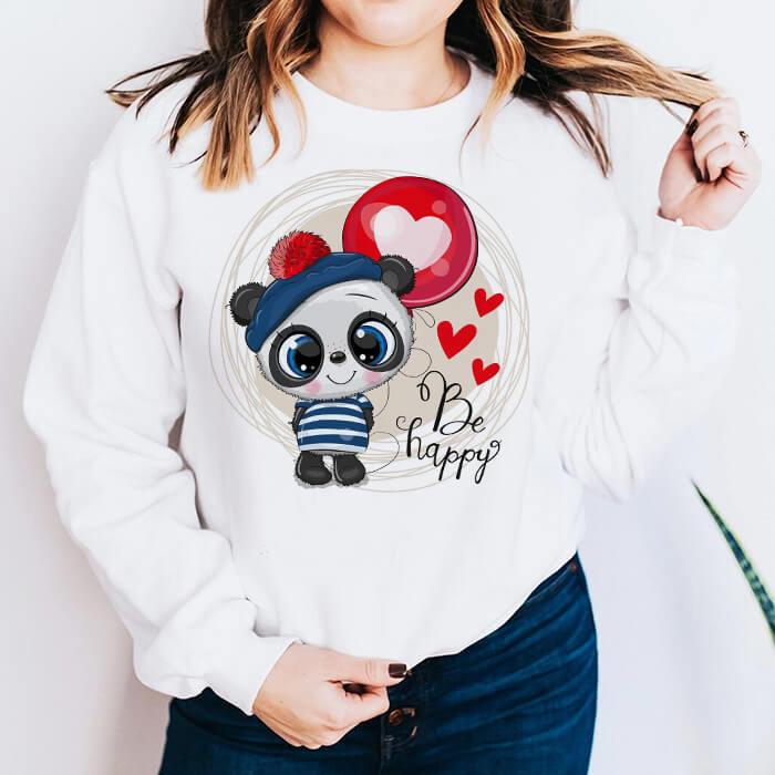Bluza Dama Alba Happy Panda [0]