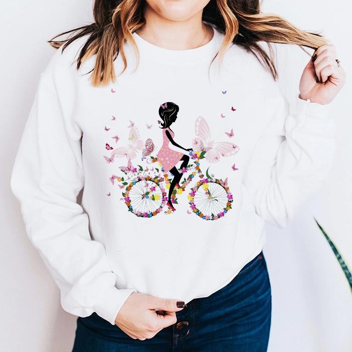 Bluza Dama Alba Flower Bicycle [0]