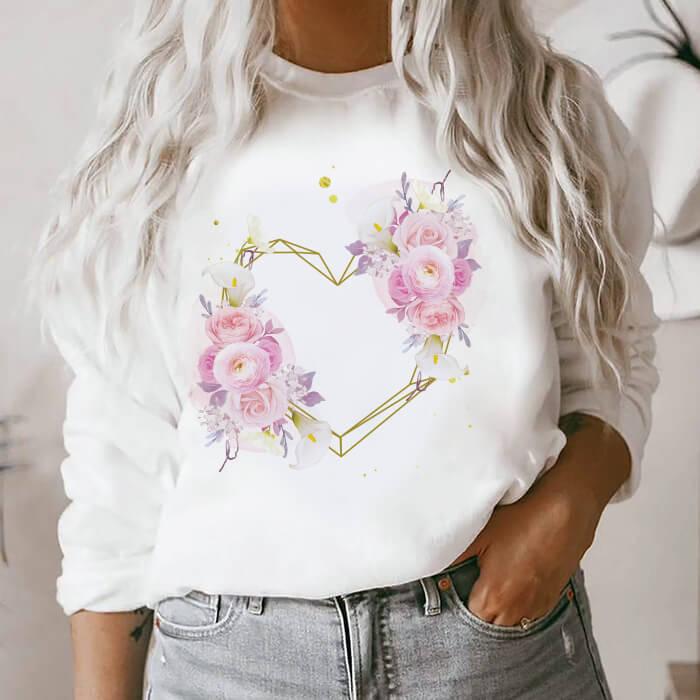 Bluza Dama Alba I Love Flowers [0]