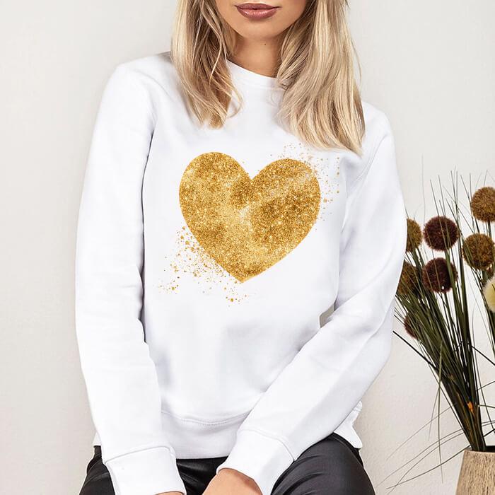 Bluza Dama Alba Golden Heart [0]