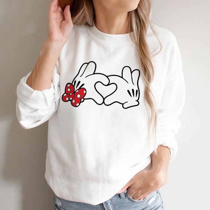 Bluza Dama Alba Heart Hands [0]
