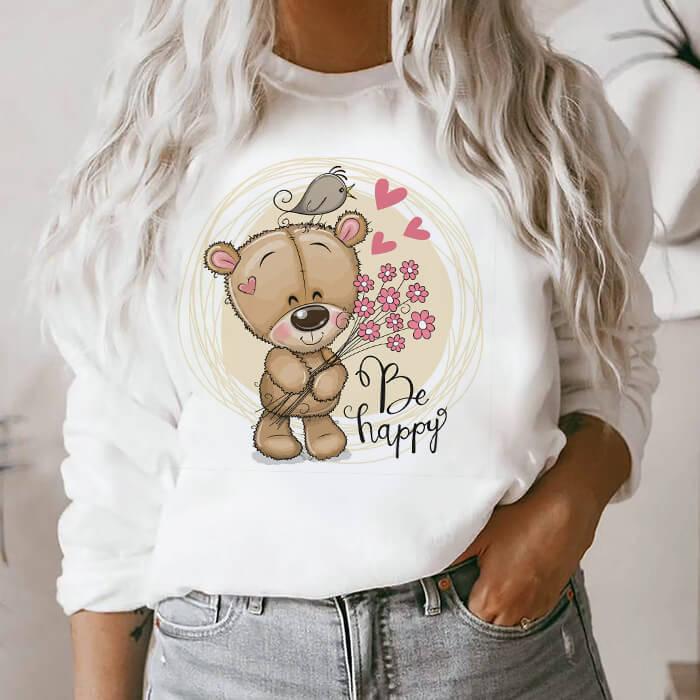 Bluza Dama Alba Happy Bear [0]