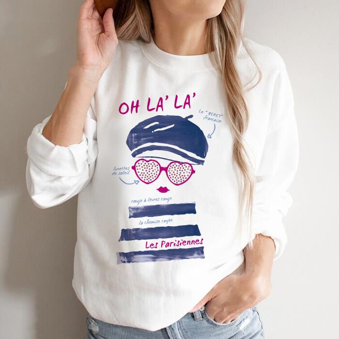 Bluza Dama Alba Les Parisiennes [0]