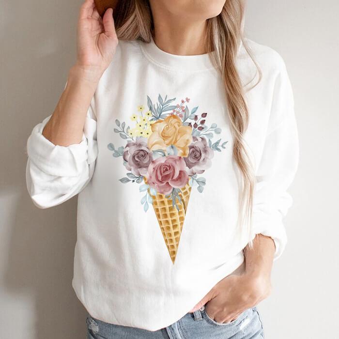 Bluza Dama Alba Rose Cream [0]