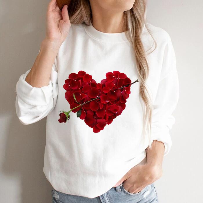 Bluza Dama Alba Love Roses [0]