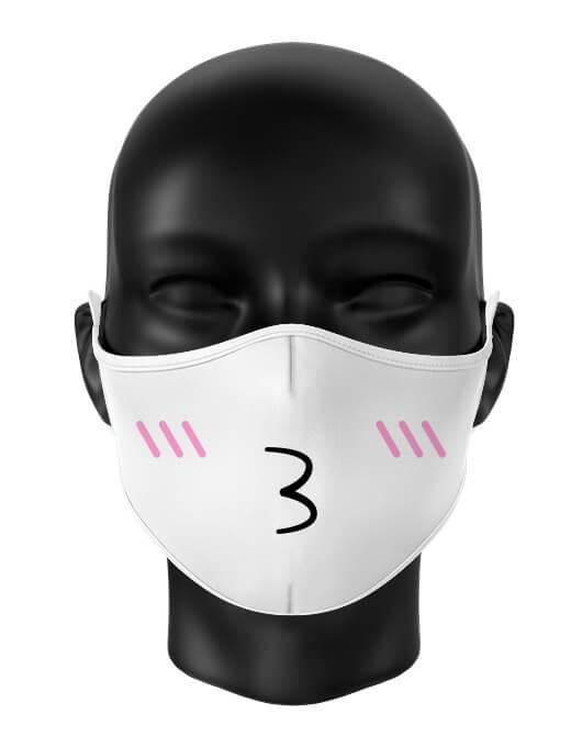 Masca de gura Kiss [0]