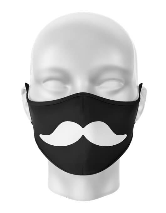 Masca de gura Mustache [0]