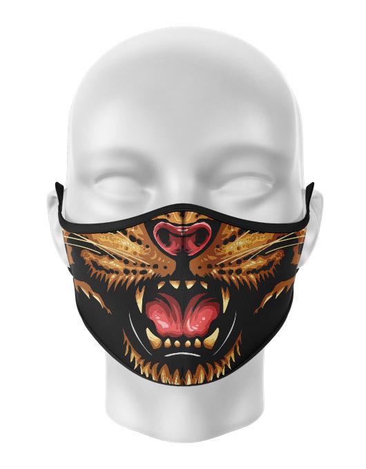 Masca de gura personalizata Angry Cheetah [0]