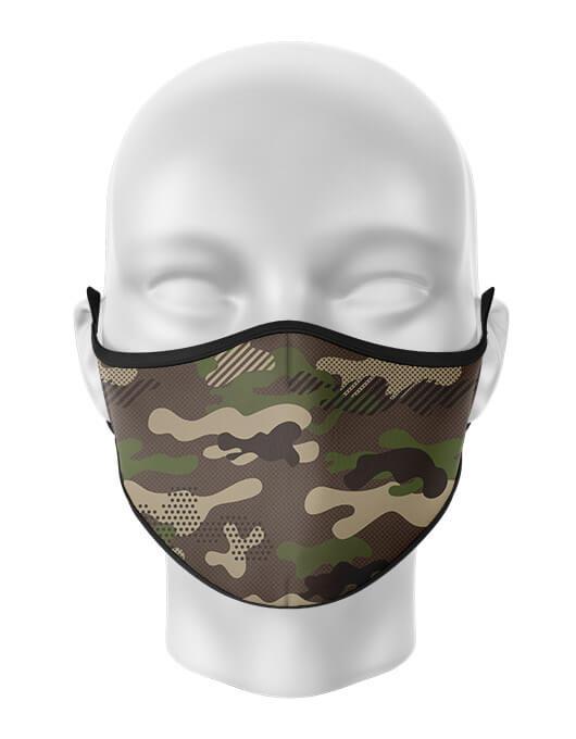 Masca de gura personalizata Army [0]