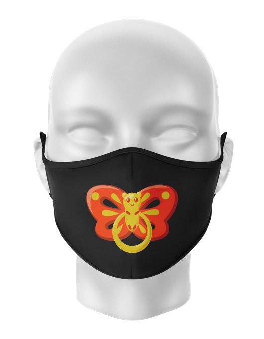 Masca de gura personalizata Butterfly pacifier [0]