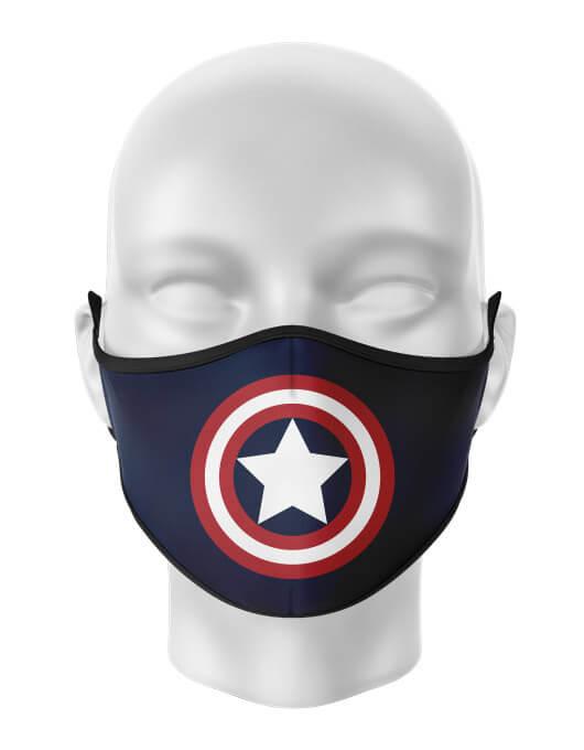 Masca de gura personalizata Captain America [0]