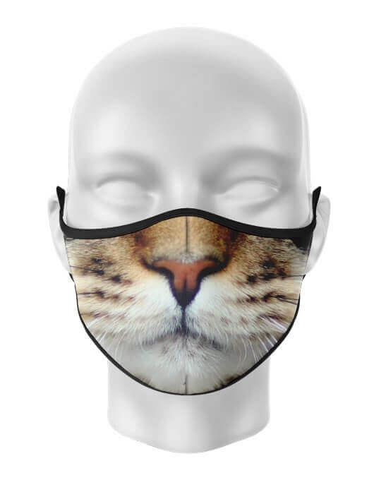 Masca de gura personalizata Cat face [0]