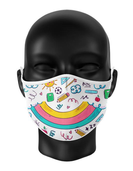 Masca de gura personalizata Child doodle [0]
