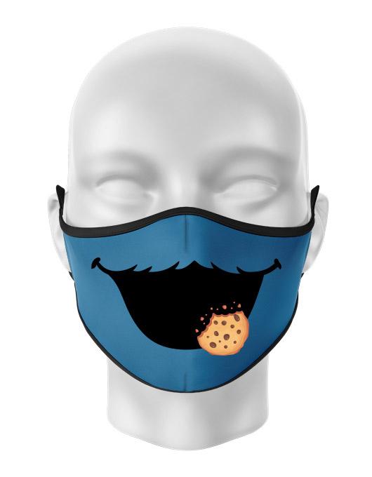 Masca de gura personalizata Cookie monster [0]
