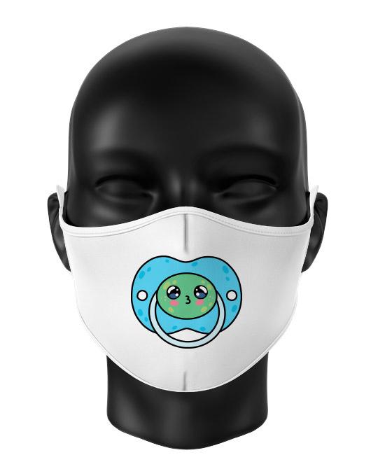 Masca de gura personalizata Frog pacifier [0]