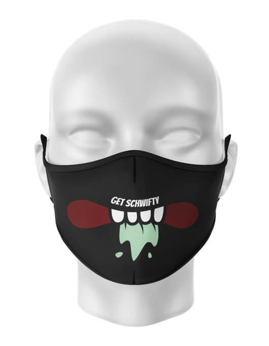 Masca de gura personalizata Get schwifty [0]