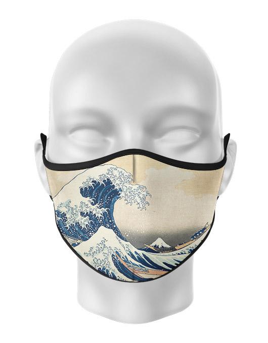 Masca de gura personalizata Great wave [0]