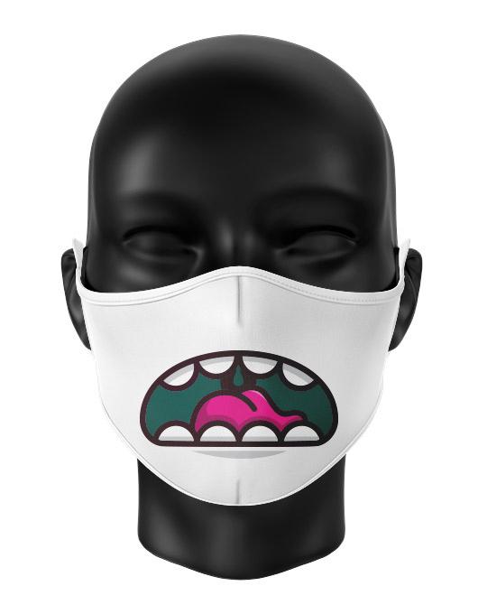 Masca de gura personalizata Grumpy monster [0]