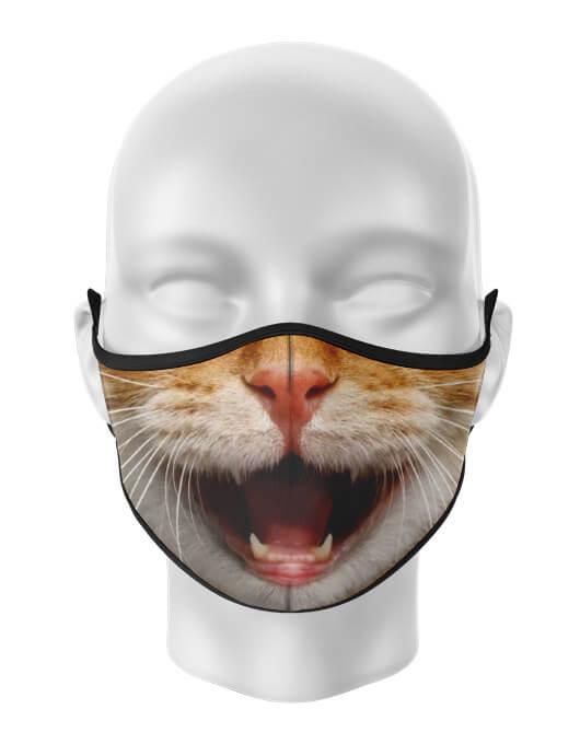 Masca de gura personalizata Happy cat [0]