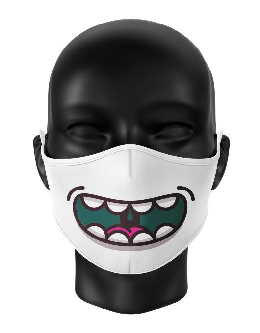 Masca de gura personalizata Happy monster [0]