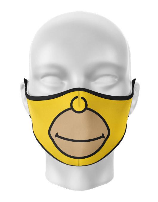 Masca de gura personalizata Homer face [0]