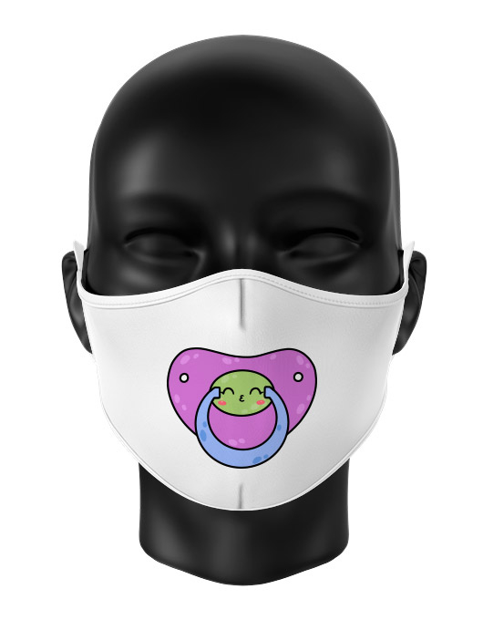 Masca de gura personalizata Kiss pacifier [0]