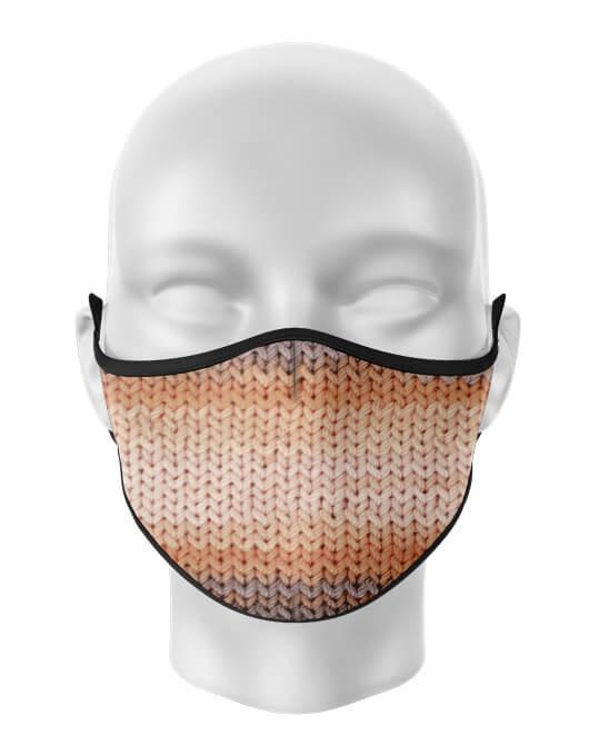 Masca de gura personalizata Knit pattern [0]