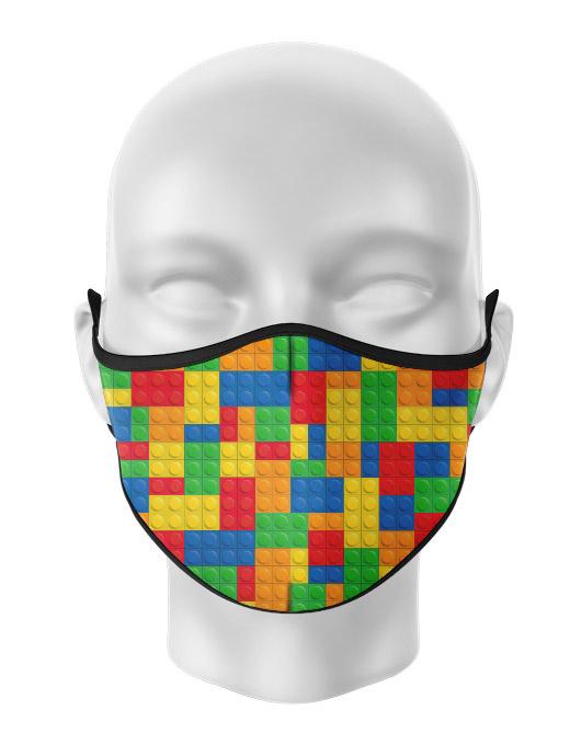 Masca de gura personalizata Lego [0]