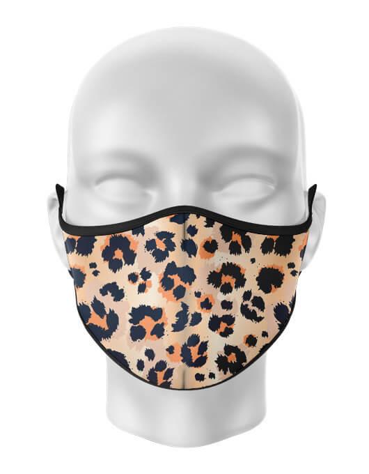 Masca de gura personalizata Leopard [0]