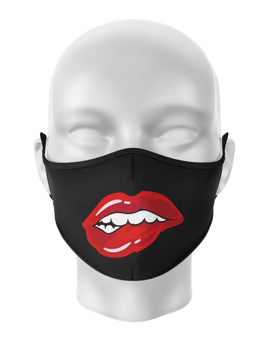 Masca de gura personalizata Lip bite [0]