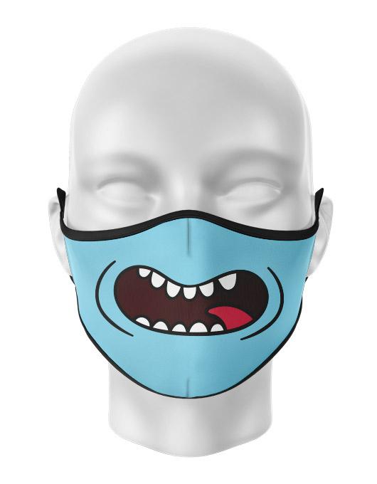Masca de gura personalizata Meeseeks [0]