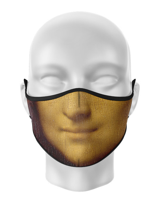 Masca de gura personalizata Mona Lisa [0]