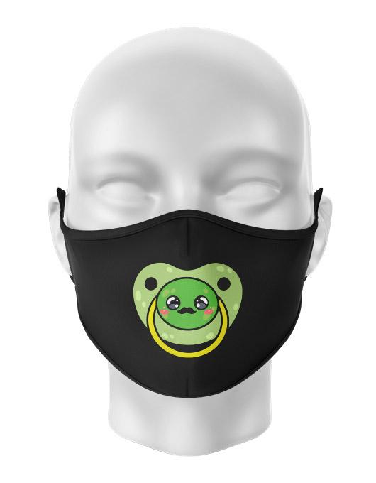 Masca de gura personalizata Moustache pacifier [0]