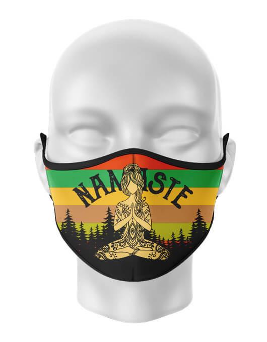 Masca de gura personalizata Namaste [0]