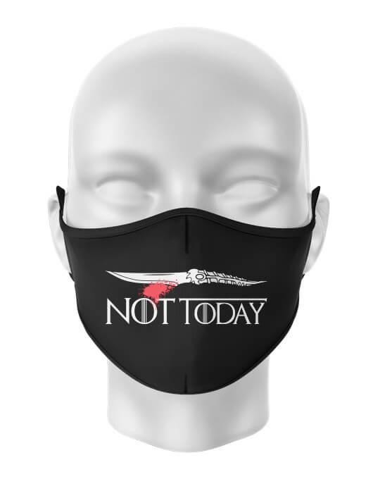 Masca de gura personalizata Not today [0]