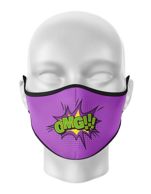 Masca de gura personalizata Oh my God [0]