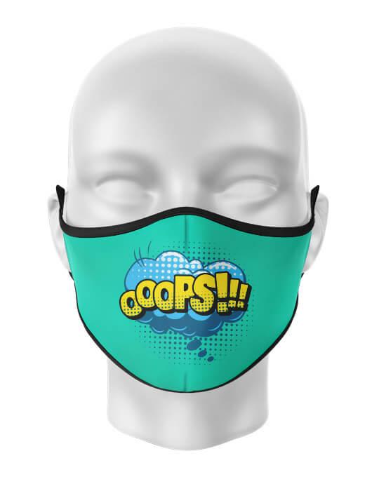 Masca de gura personalizata Ooops [0]