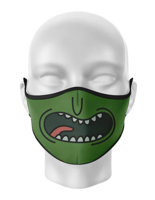 Masca de gura personalizata Pickle Rick [0]