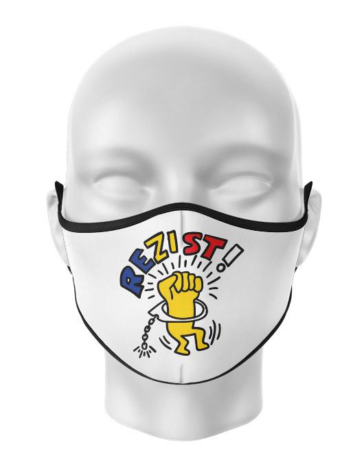 Masca de gura personalizata Rezist [0]