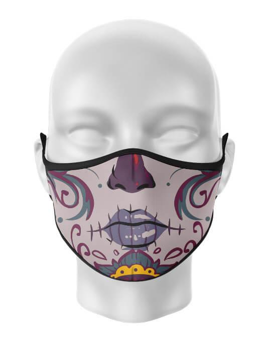 Masca de gura personalizata Santa muerte [0]