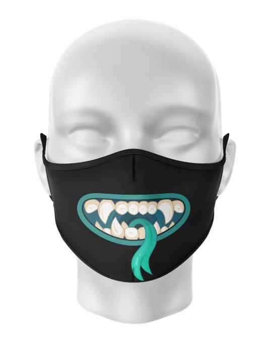 Masca de gura personalizata Silly monster [0]