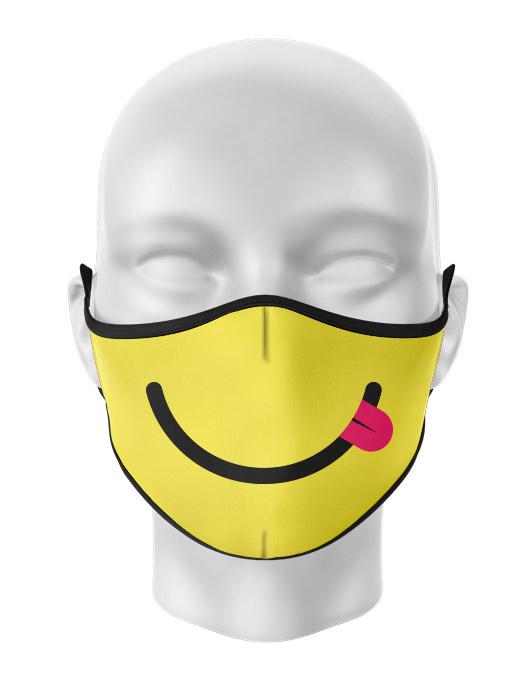 Masca de gura personalizata Silly smile [0]