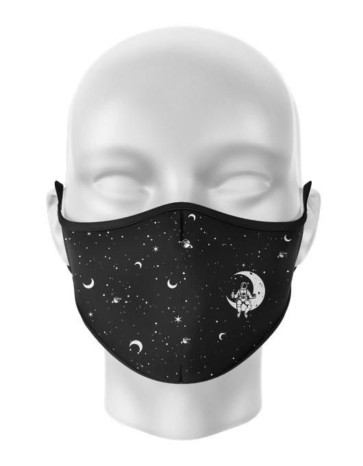 Masca de gura personalizata Space [0]