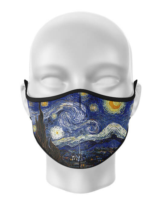 Masca de gura personalizata Starry night [0]