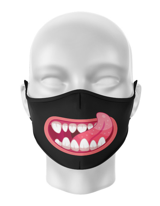 Masca de gura personalizata Tasty [0]