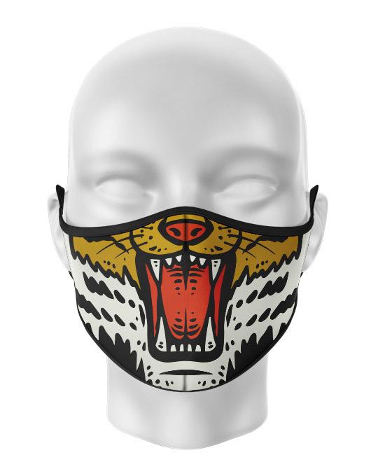 Masca de gura personalizata Tiger mouth [0]