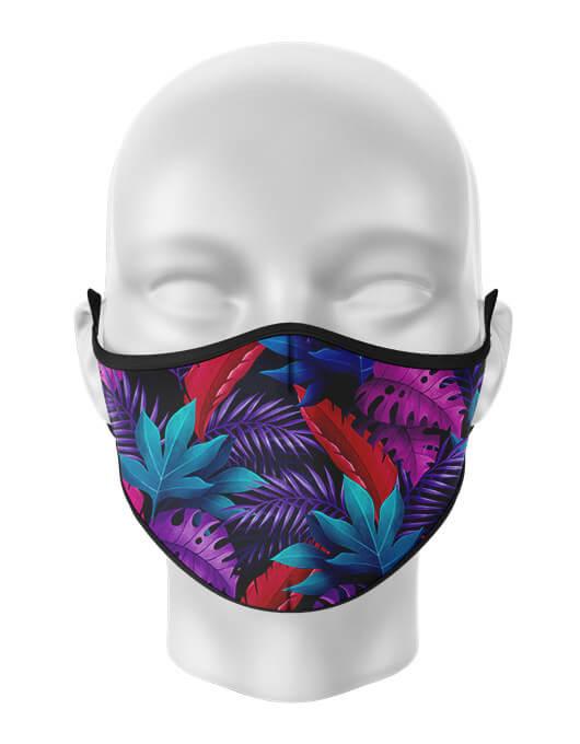 Masca de gura personalizata Tropical [0]