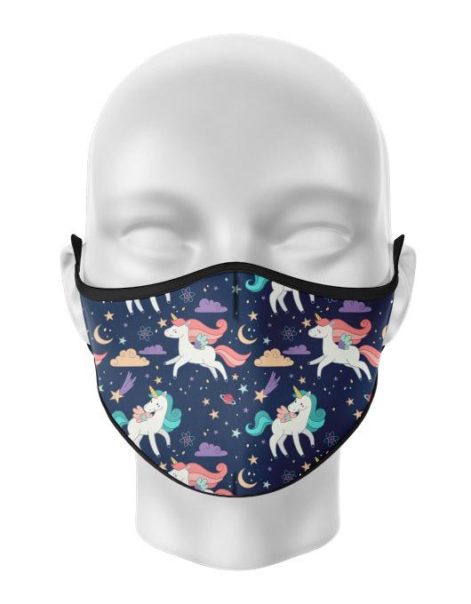Masca de gura personalizata Unicorns [0]