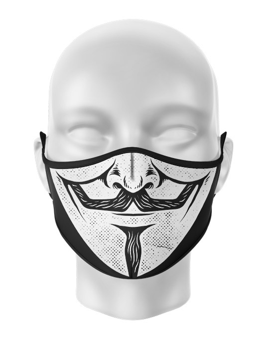 Masca de gura personalizata Vendetta [0]